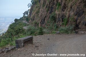 Debark to Axum road - Ethiopia