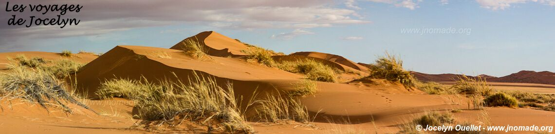 Section nord - Parc national de Namib-Naukluft - Namibie