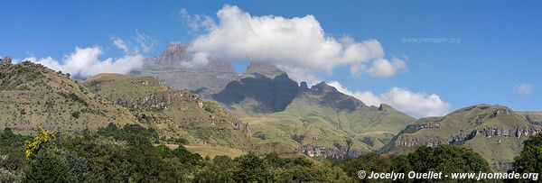 Monks Cowl area - uKhahlamba-Drakensberg - South Africa