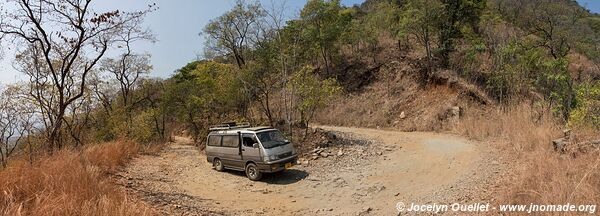 Road from Chitimba to Livingstonia - Malawi