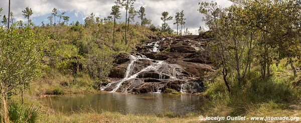 Pinol Cascade - Mountain Pine Ridge Forest Reserve - Belize