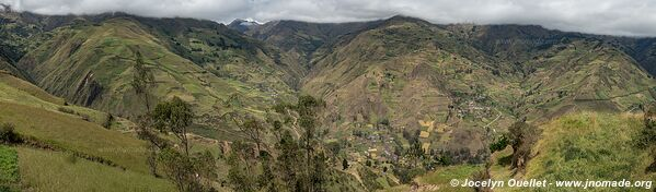 Road from Angamarca to Zumbahua - Ecuador