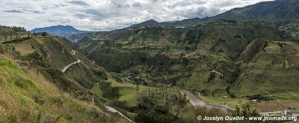 Road from Isinliví to Sigchos - Ecuador