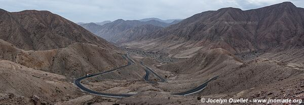 Road from Nazca to Puquio - Peru